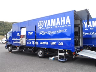 YAMAHA Factory Racing トラック